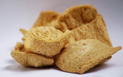 Filetes de soja texturizada
