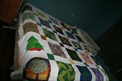Birthday block quilt