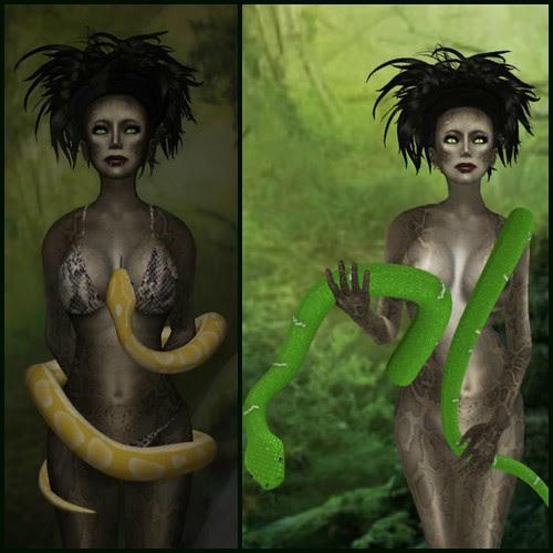 Snake collage 1 by Kara 2