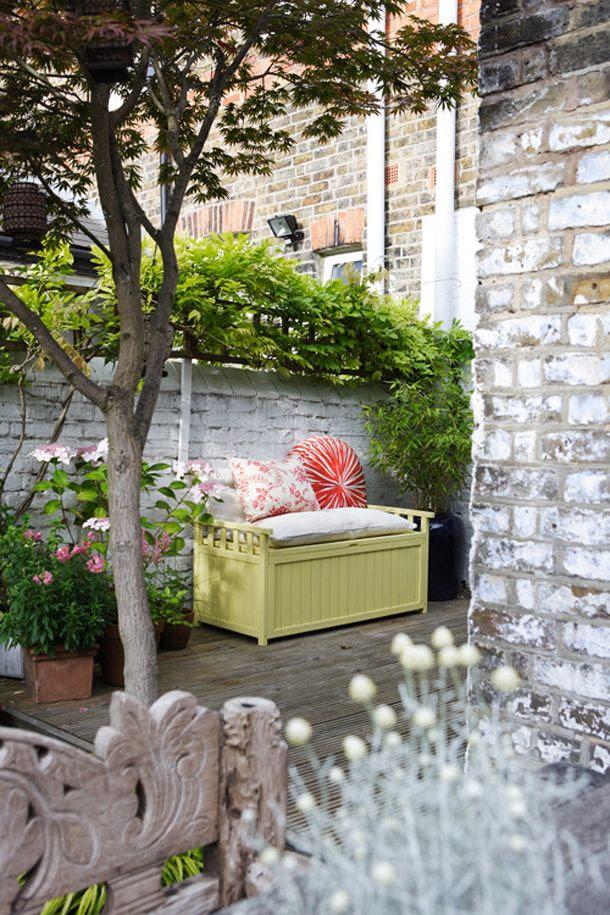 Outdoor Painted Brick Walls