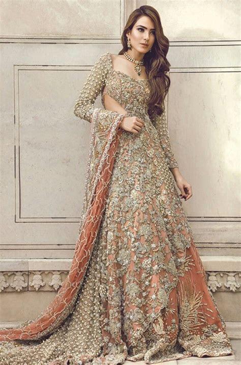 1000  ideas about Pakistani Gowns on Pinterest   Pakistani