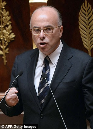 Socialist Interior Minister Bernard Cazeneuve fears there might be a repeat of the fights between Jewish vigilantes and pro-Palestinians which happened after a demonstration last Sunday