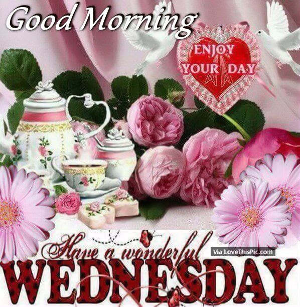 Good Morning Have A Wonderful Wednesday Enjoy The Day Pictures