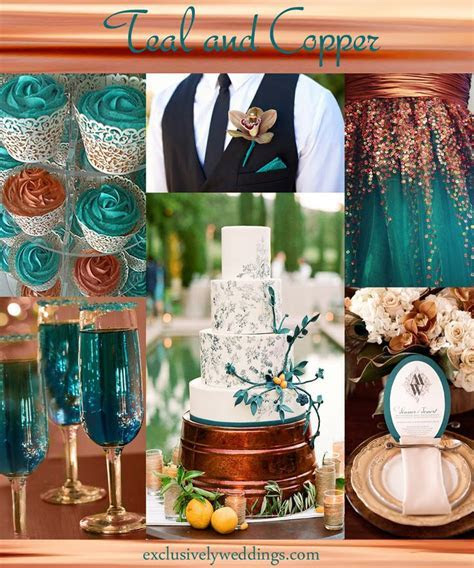Your Wedding Color ? Pair With a Metallic for Stunning