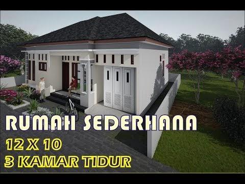 menarik rumah minimalis sederhana 1 lantai 10x12 meter 3