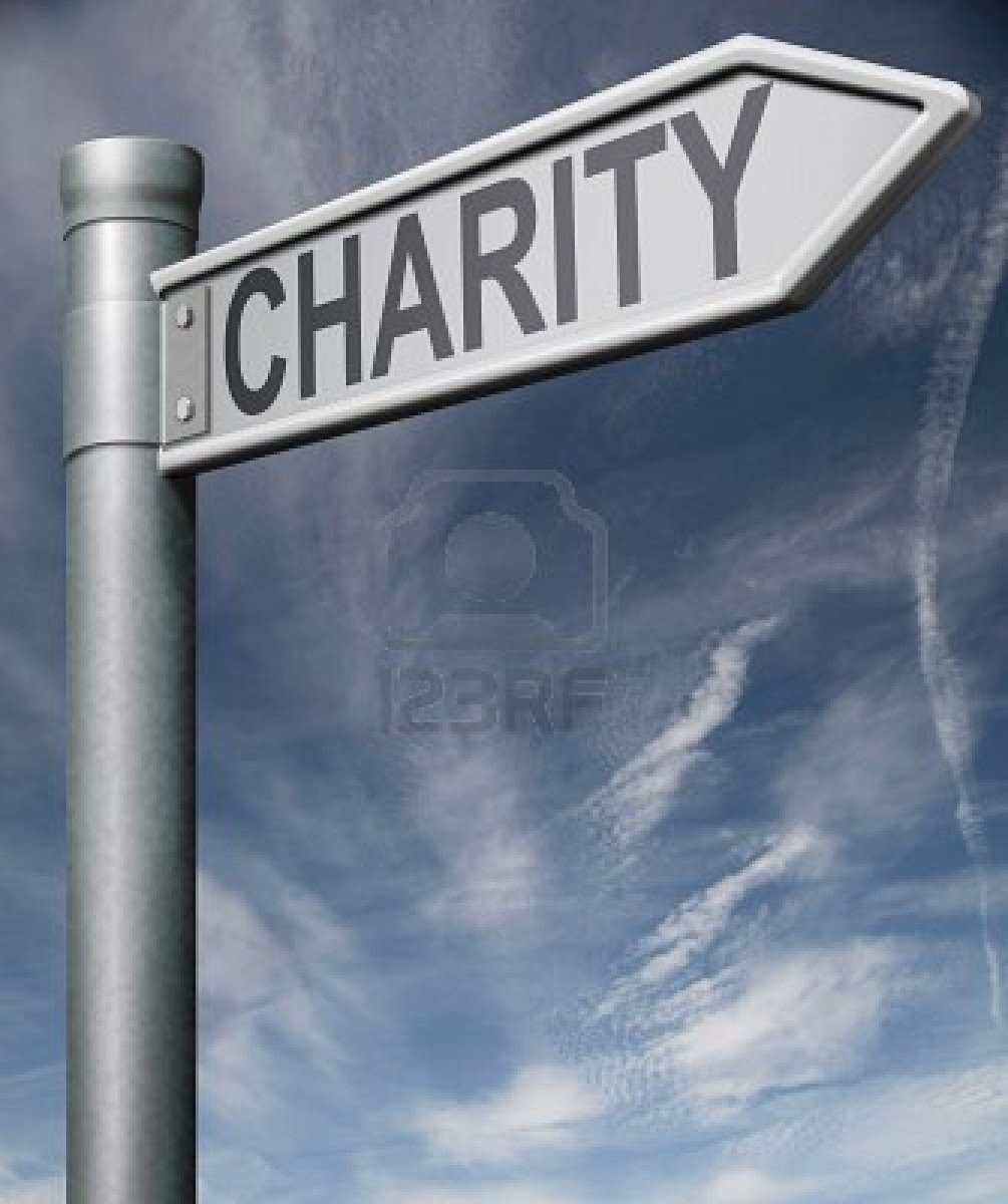 9005670 charity road sign raise money to help donate gifts fundraising give a generous donation or help with