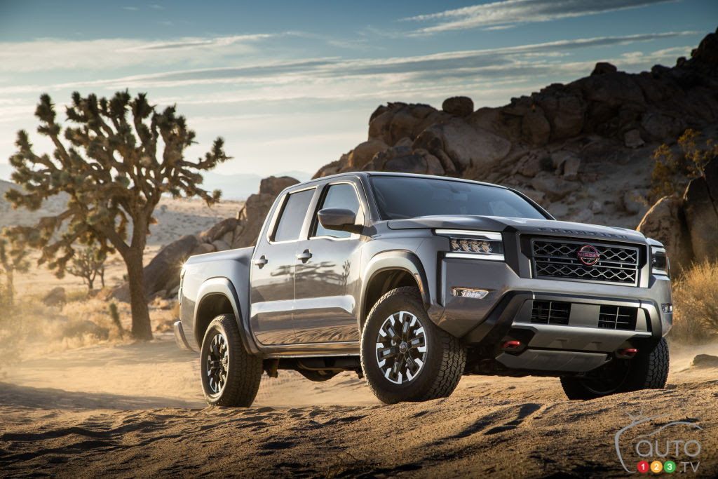 Revised 2022 Nissan Frontier unveiled | Car News | Auto123