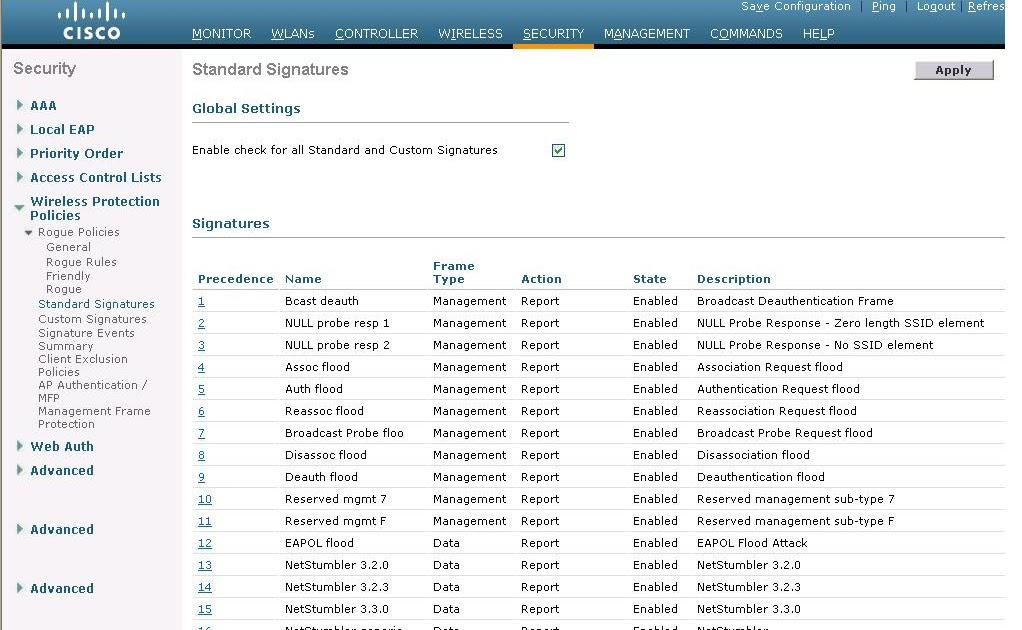 Giant Nerd Wi-Fi: Writing Custom IDS Signatures for Cisco WLCs