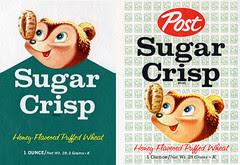 Sugar Crisp 1 oz boxes