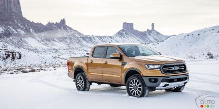 ford ranger   unveiled  detroit car news