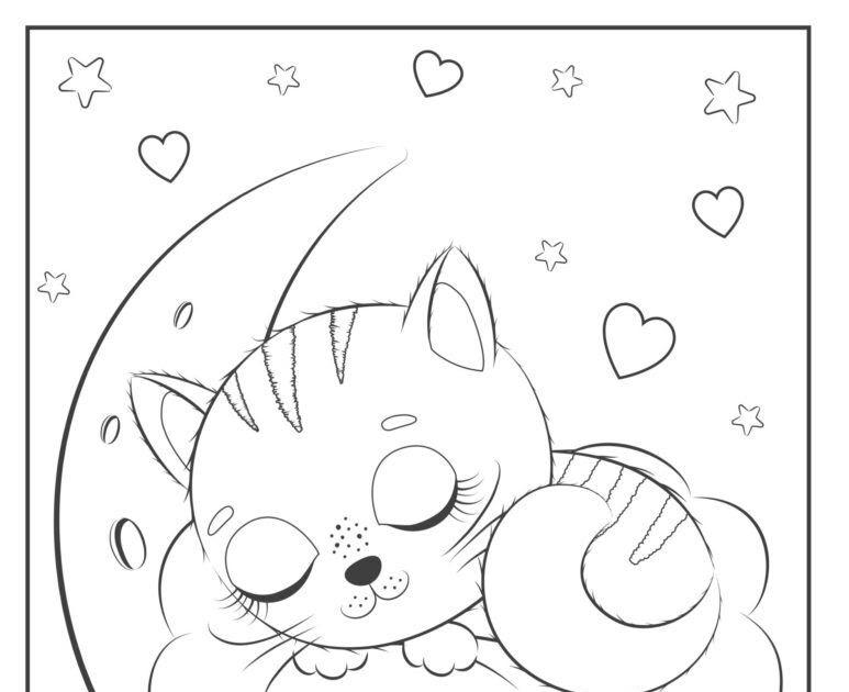 Gambar Kucing Simpel godean.web.id