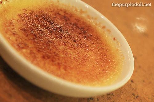 Plate - Creme Brulee