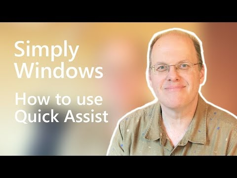 Latest 'Simply Windows' video: A work from home episode shows how to use Quick Assist
