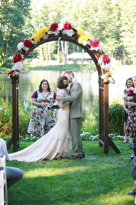 Wooden Wedding Arch   Elizabeth Anne Designs: The Wedding Blog