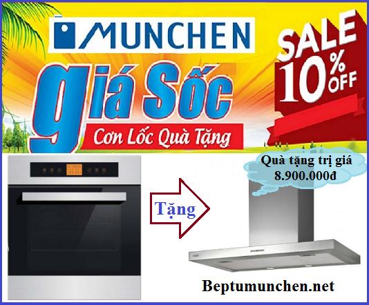 Lò nướng Munchen ML60 khuyến mại cực sốc