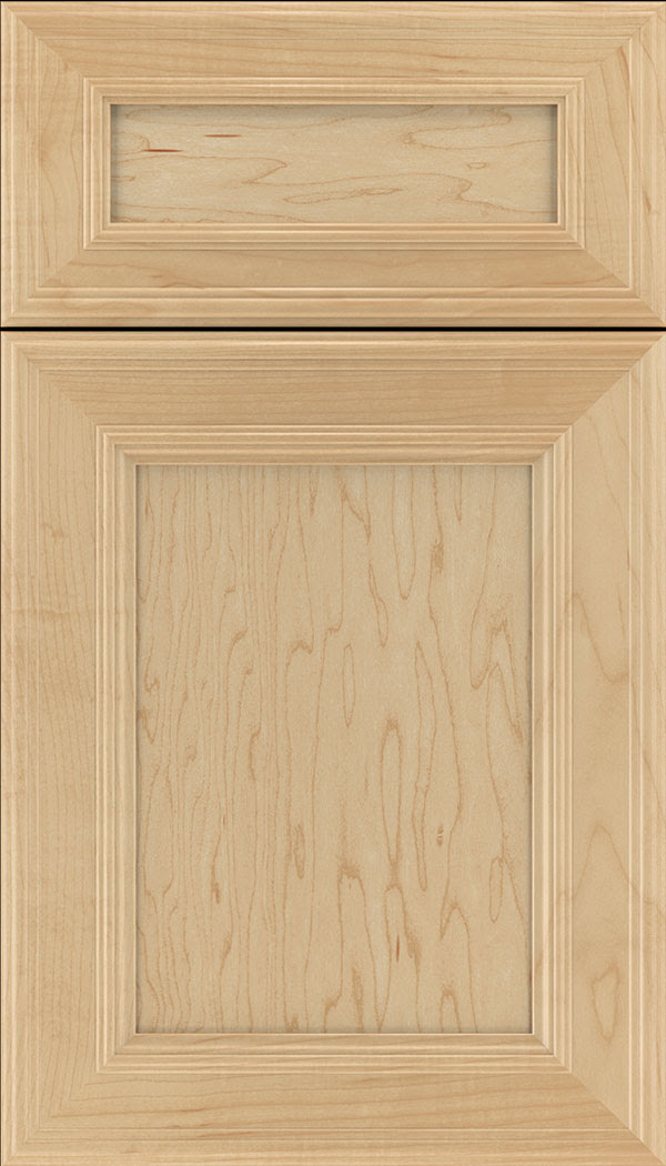 Natural Maple Cabinet Finish - Kitchen Craft Cabinetry