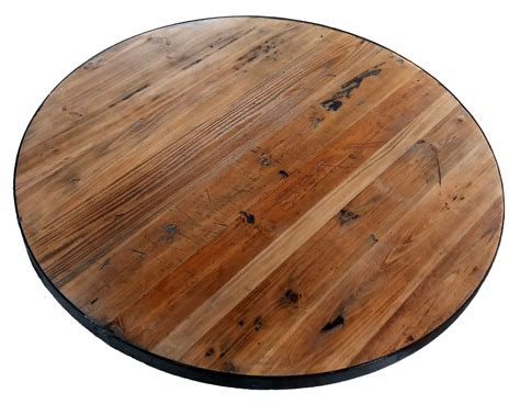 reclaimed  wood table tops restaurant cafe