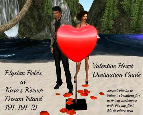 Elysian Fields and Destination Guide Heart by Kara 2