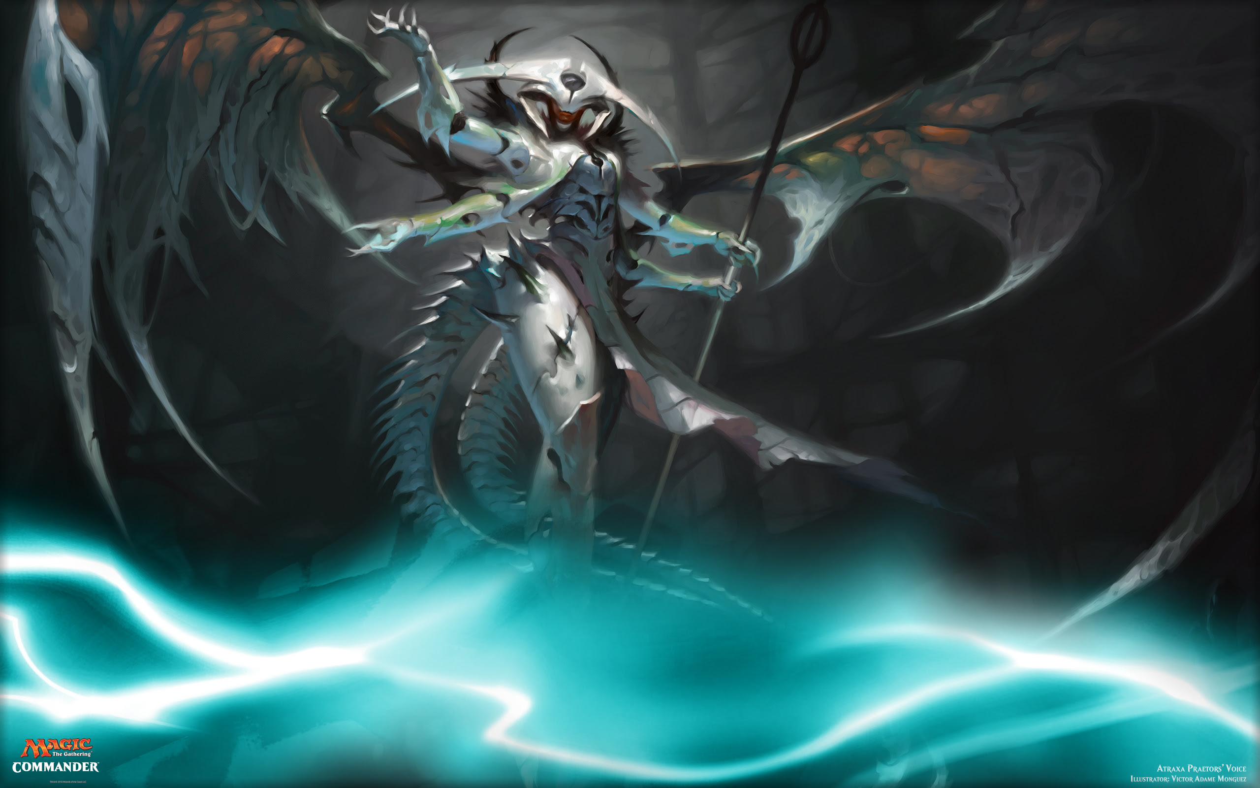 Atraxa Praetors Voice Magic The Gathering Wallpaper 40043806