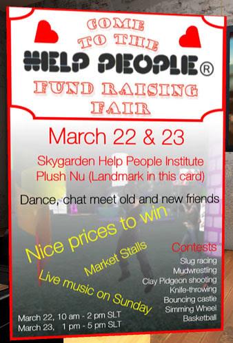 Help People fair sign