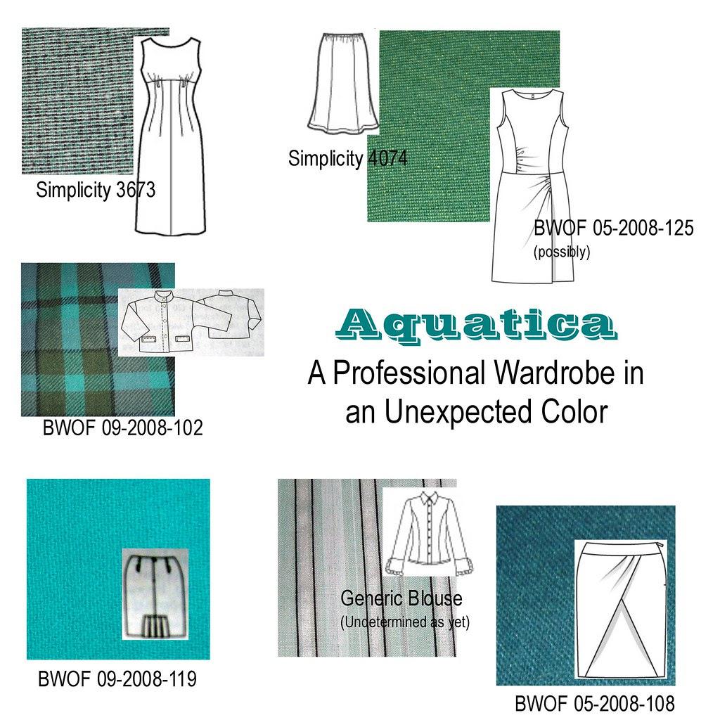 Aquatica Wardrobe Plan