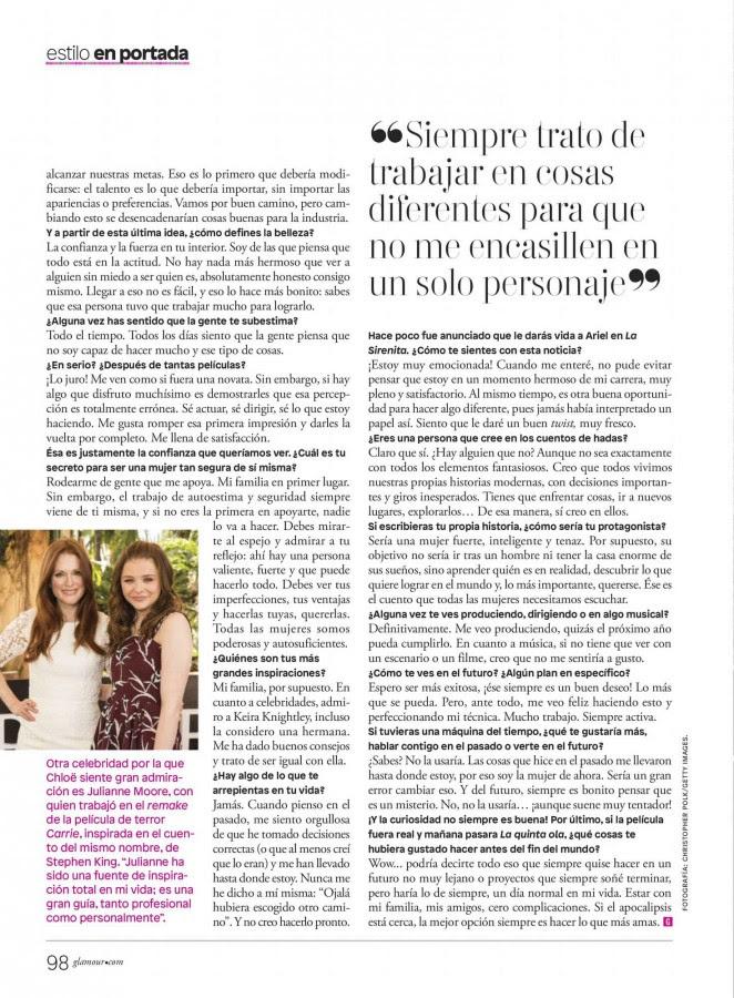 Chloe Moretz: Glamour Mexico 2016 -05