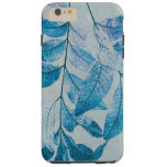 blue leaves original nature photo art tough iPhone 6 plus case
