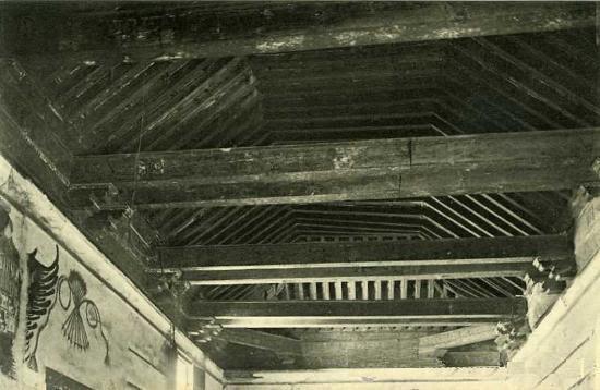Posada de la Hermandad (interior) a principios del siglo XX. Foto Roisin