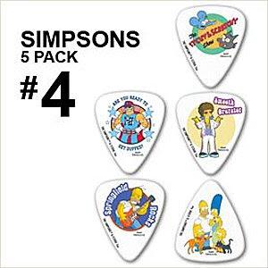 Simpsons 4 pack de 5 m diators de guitare m diators - Guitare simpson ...