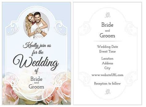 10 Beautiful (and Free) Wedding Invitation Card Templates