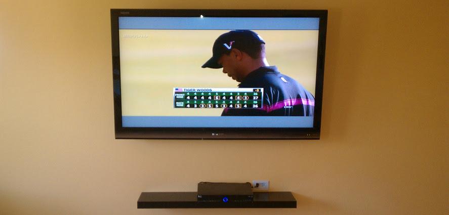 Flat Screen TV Installation Ideas - Home Theater Installation ...