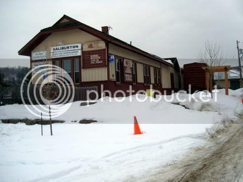 Old Train Station Haliburton Village