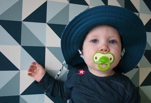Zanne met hoed