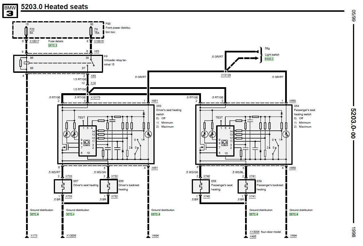 Bmw E36 Bezpieczniki Schemat