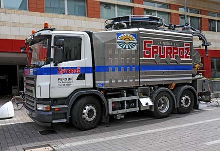 Camion per spurghi