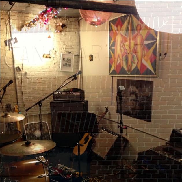 Hallelujah The Hills' Puritan Garage practice space
