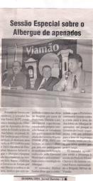 Sessão na Câmara de Vereadores.