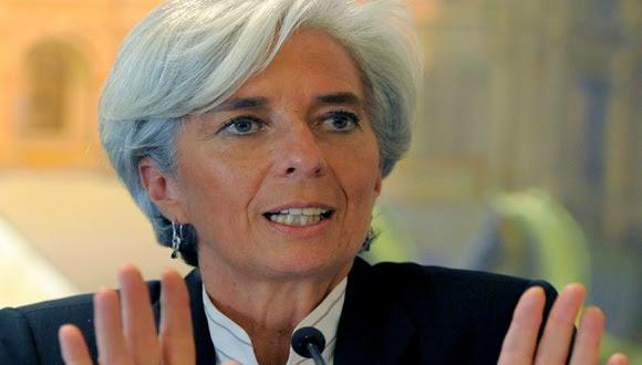 Christine Lagarde. Foto: archivo.