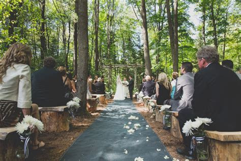 An Elegant Enchanted Forest Themed Wedding in Huntsville