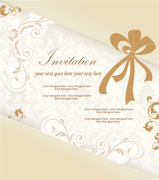 Editable engagement invitation card free vector download (14,358 ...