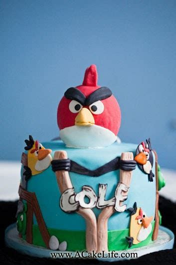 A Cake Life: Cole's Angry Birds