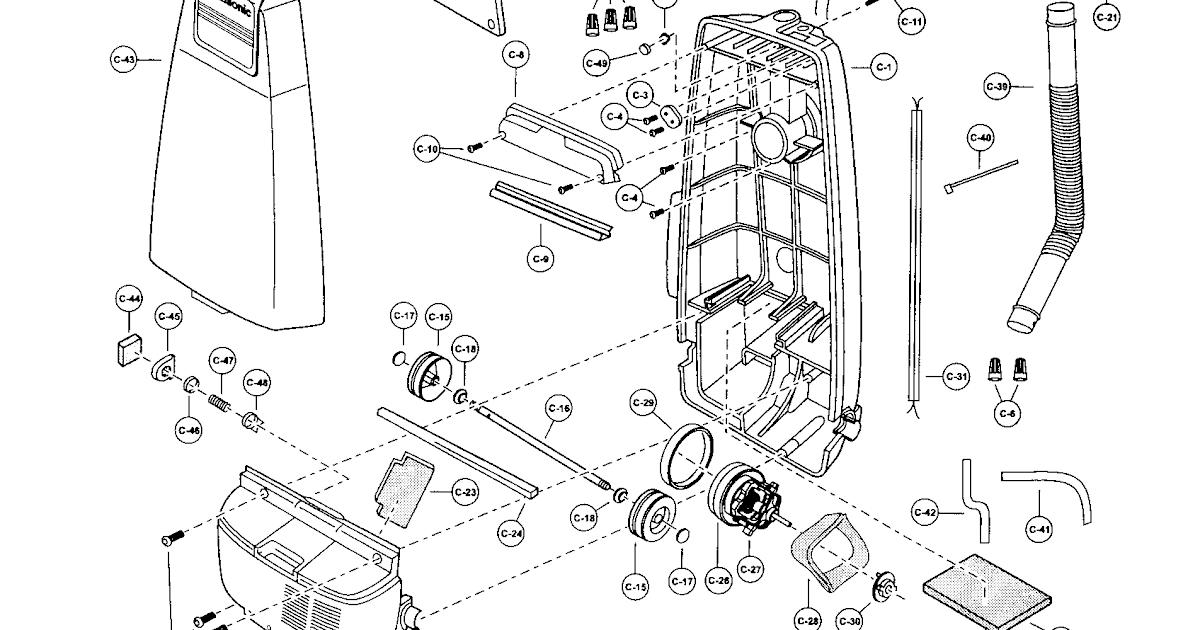 31 Panasonic Vacuum Parts Diagram