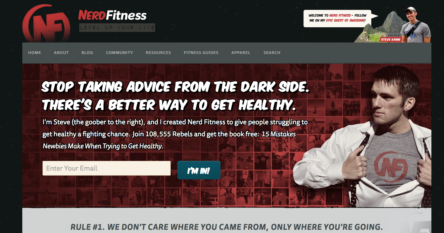 6. Nerd Fitness