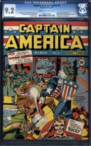 'Captain America Comics' #1