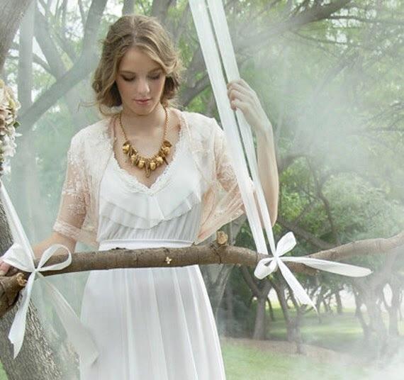 L- XL size- Peach wedding lace shrug  (4 options shawl brides collection) bridal bolero
