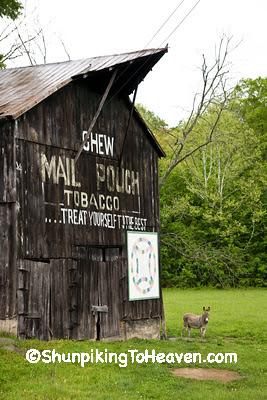 Mail Pouch Barn, Carter County, Kentucky