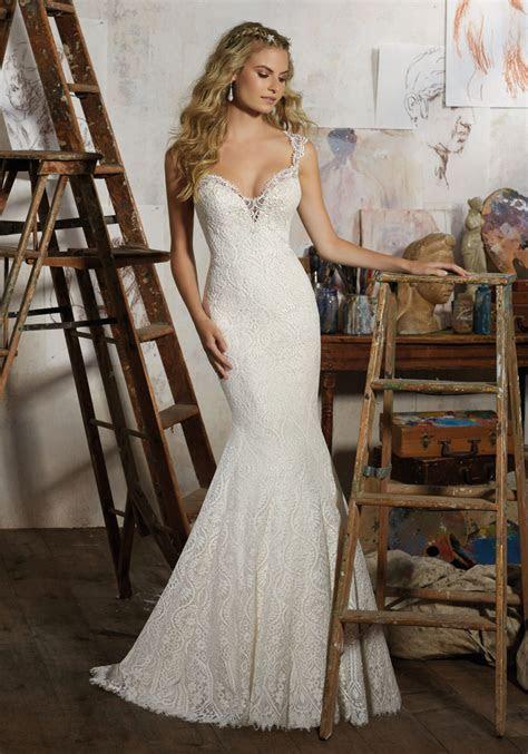 Macy Wedding Dress   Style 8104   Morilee