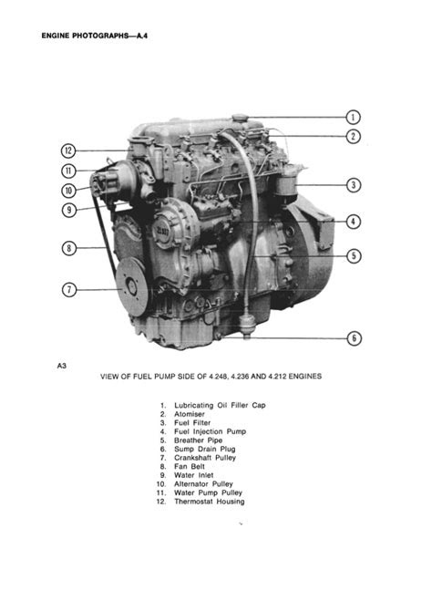 PERKINS 4.248 DIESEL ENGINE Service Repair Manual