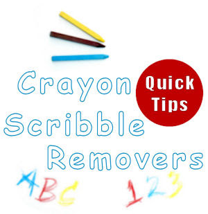 21 Crayon Busters How To Remove Scribbles From Walls Tipnutcom