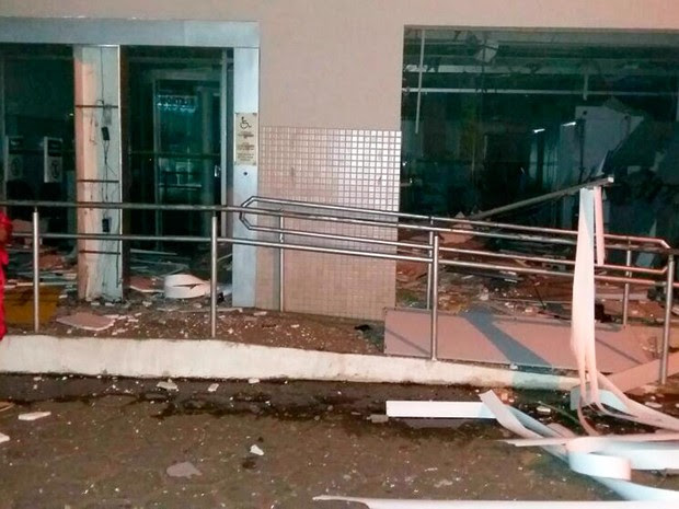 Moradores ficaram assustados com explosão (Foto: Arquivo pessoal)